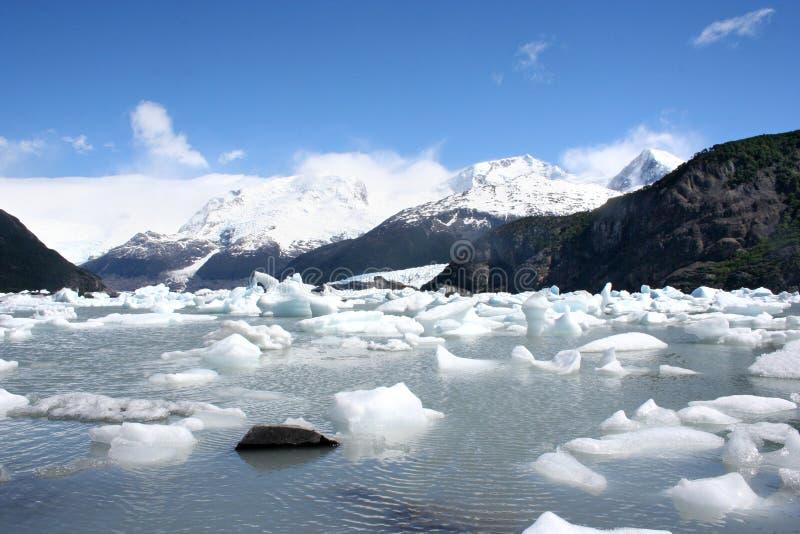 Horizontal de Patagonia, sud de l'Argentine photographie stock