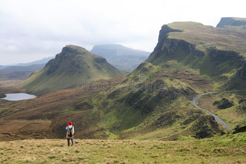 Horizontal de Skye photos libres de droits