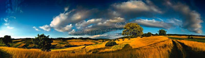 Horizontal de Transylvanian photo libre de droits