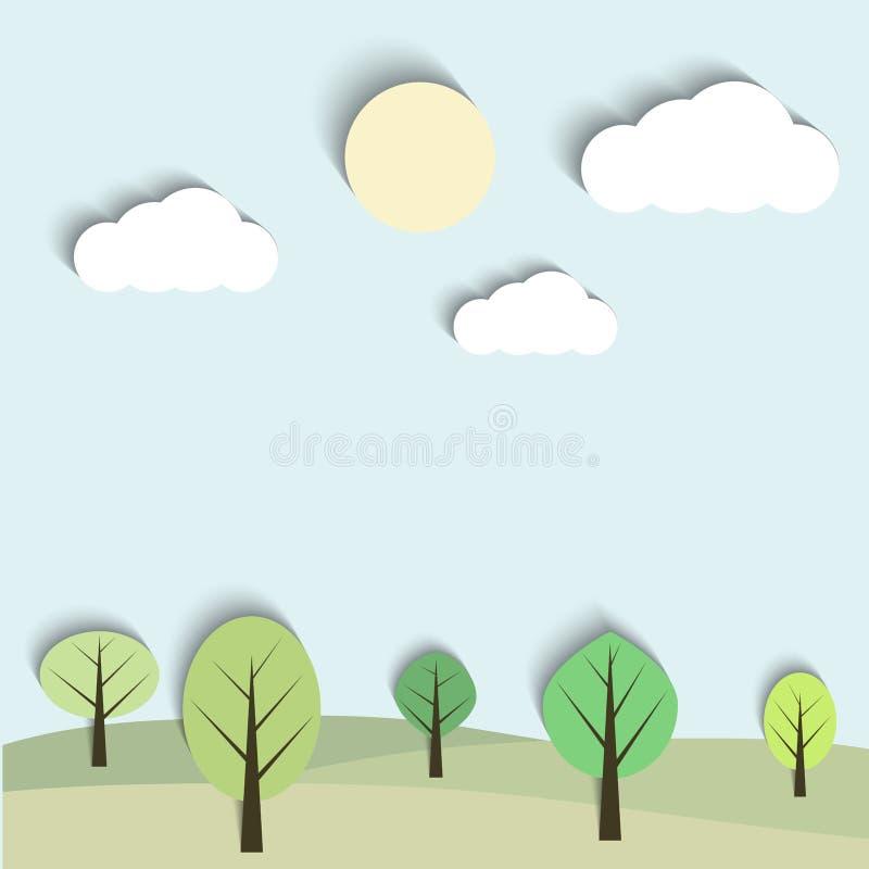 Download Horizontal de vecteur illustration de vecteur. Illustration du feuillage - 45357694