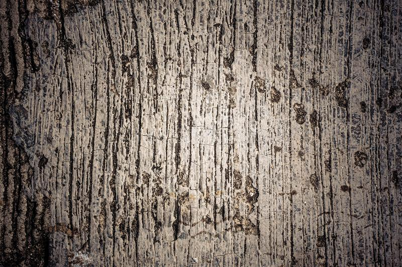 Horizontal design on outdoor polished cement and concrete texture for pattern and background. Dark Style for web background royalty free stock photos