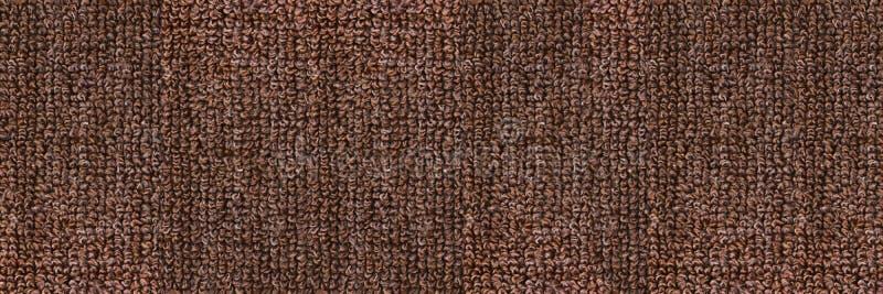 horizontal elegant dark brown carpet texture for pattern and background royalty free stock image