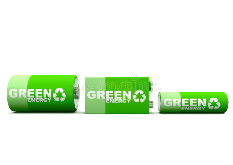 Horizontal Green Energy Batteries