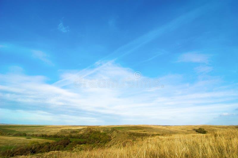Horizontal idyllique image stock
