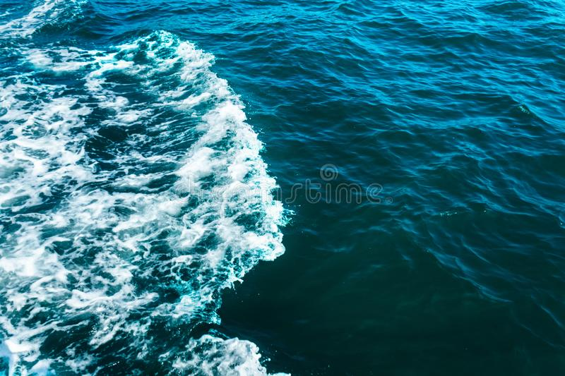 Abstract Foaming Ocean Wave Stock Image Image Of Blue