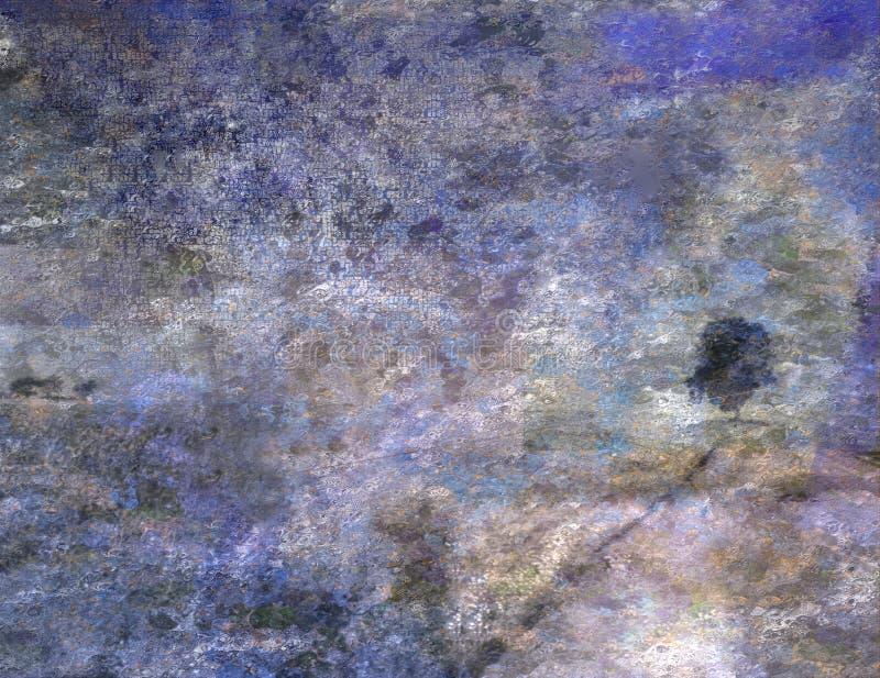 Horizontal impressionniste illustration de vecteur