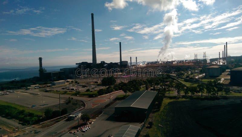Horizontal industriel photo libre de droits