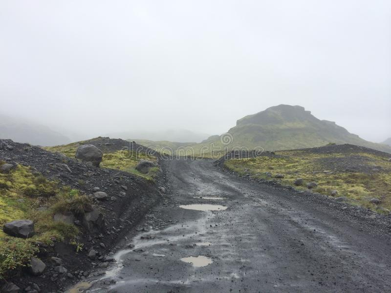 Horizontal islandais photo libre de droits