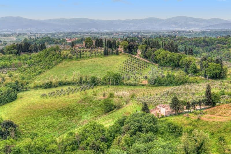 Horizontal Italie de la Toscane image stock