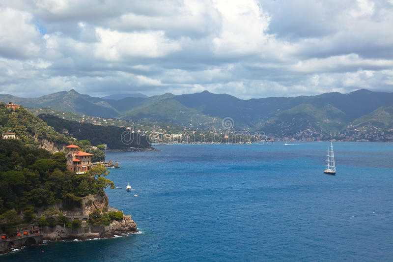 Horizontal italien de mer image libre de droits