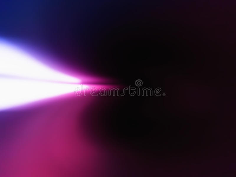 Horizontal left aligned light leak background. Hd royalty free illustration