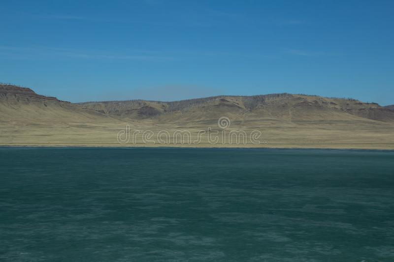 Horizontal lines of nature royalty free stock images