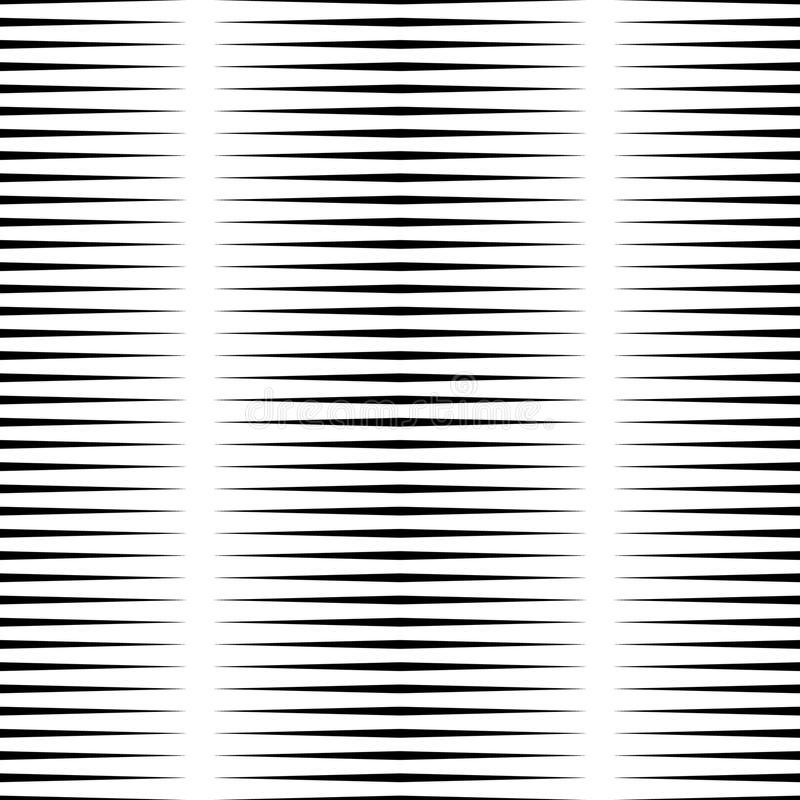 Horizontal lines repeatable geometric pattern. Stripes, streaks. From edge of the page. - Royalty free vector illustration stock illustration