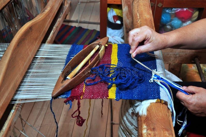 Download Horizontal loom stock image. Image of skillful, craft - 26452013