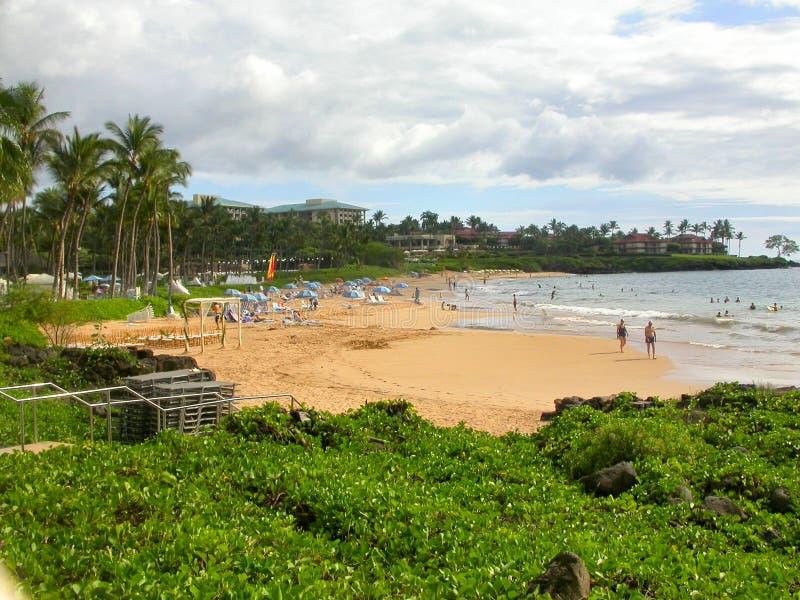 horizontal Maui photographie stock libre de droits
