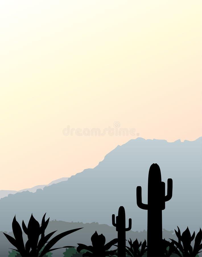 Horizontal mexicain illustration stock