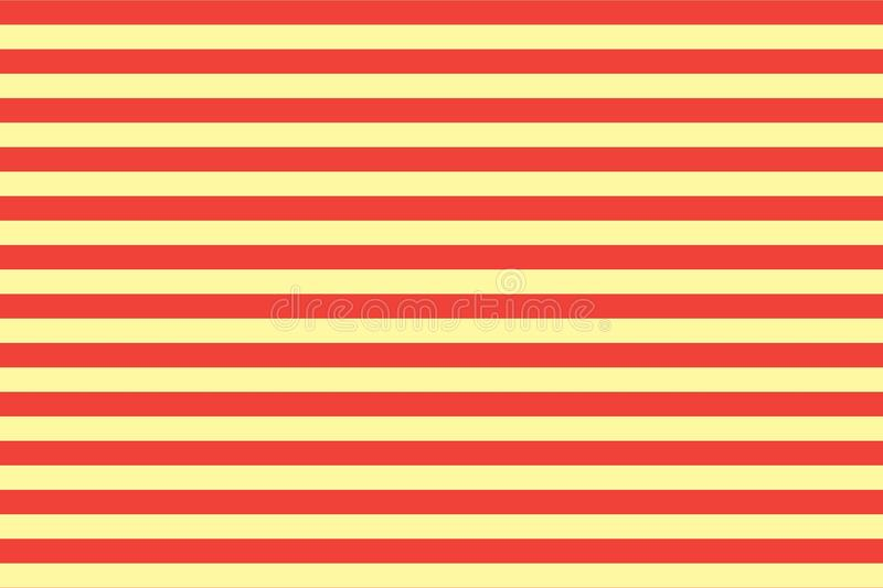 Horizontal multi color lines on a background. Illustration design. Wallpaper, abstract, new, art, orange, print, backdrop, modern, fabric, flannel, repeat vector illustration