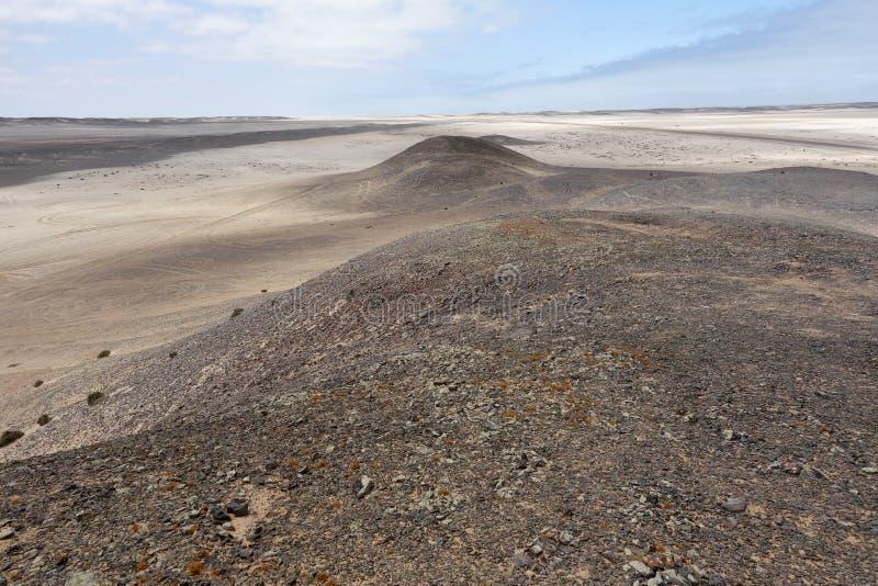 Horizontal namibien photo libre de droits