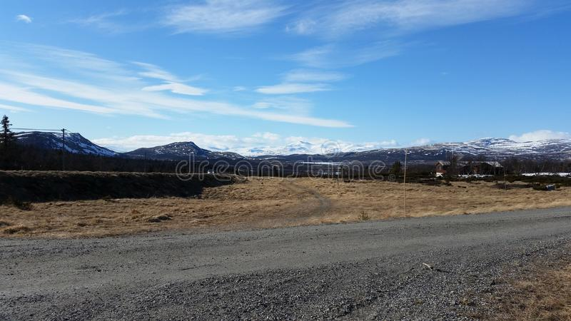 Horizontal norvégien photos libres de droits