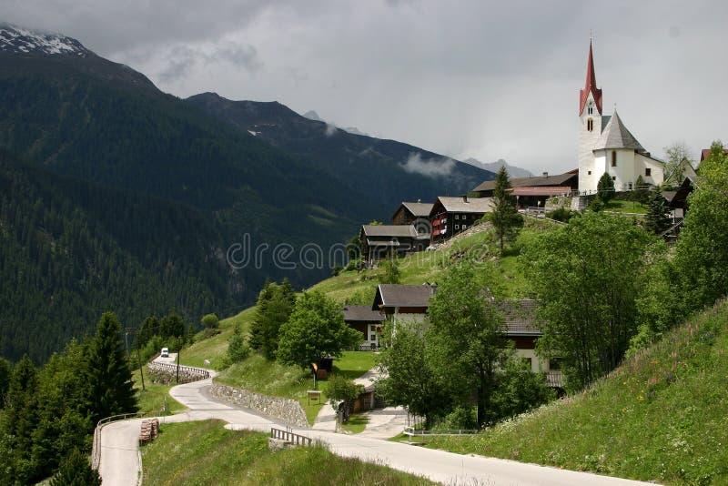 Horizontal Ost le Tirol image stock