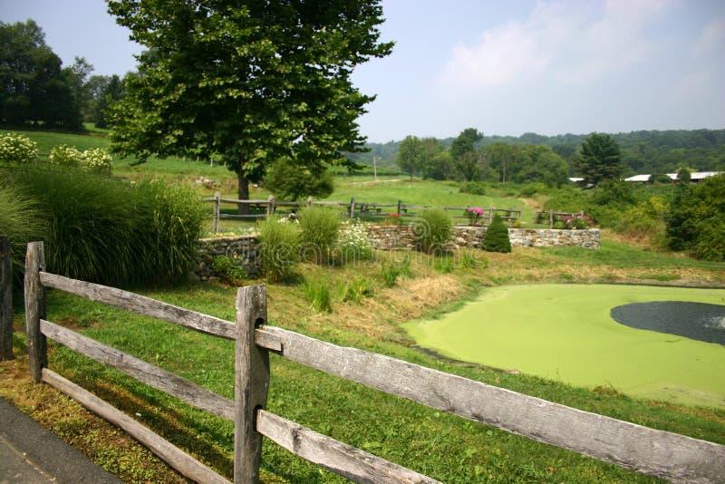 Horizontal pastoral photographie stock