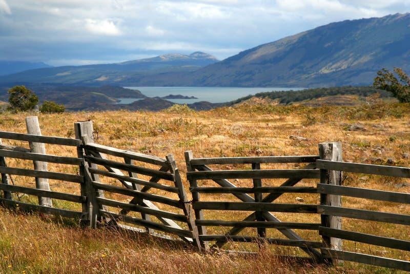 Horizontal Patagonian photos libres de droits