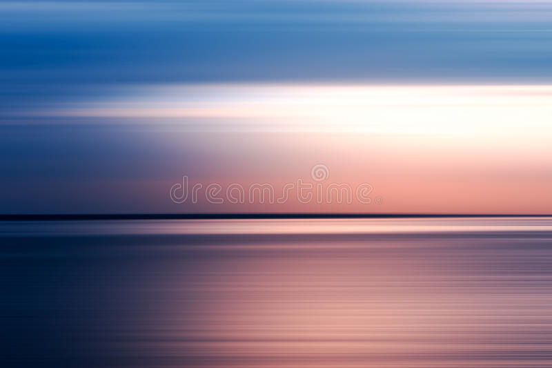 Horizontal pink and blue motion blur background royalty free stock photo