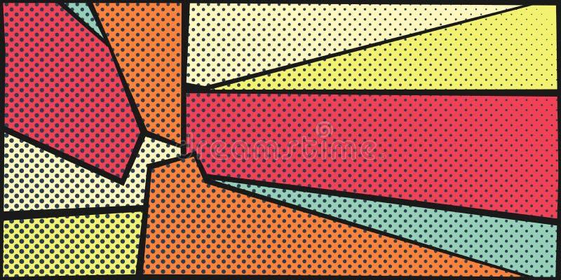 horizontal pop art background stock vector illustration of rh dreamstime com pop art background info pop art background dots vector