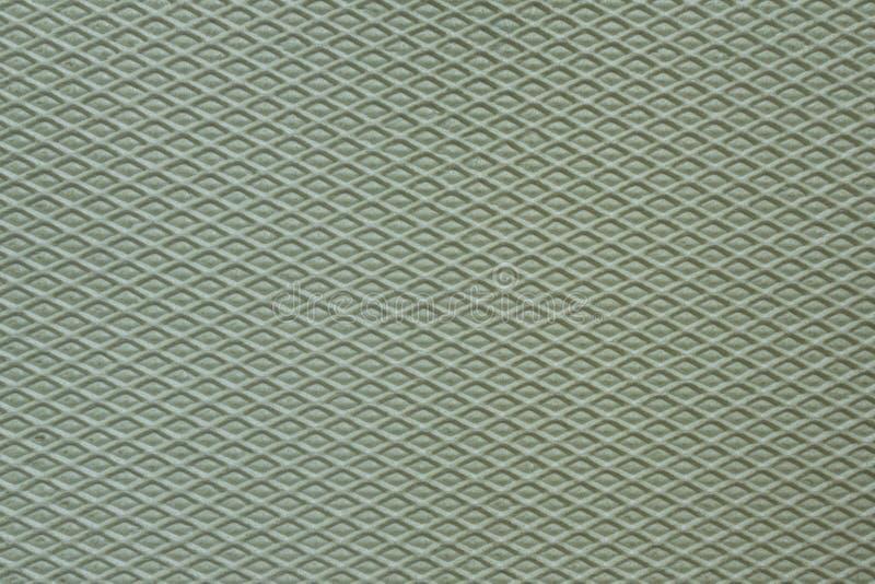 Horizontal rhomboid pattern on insulation panel stock image