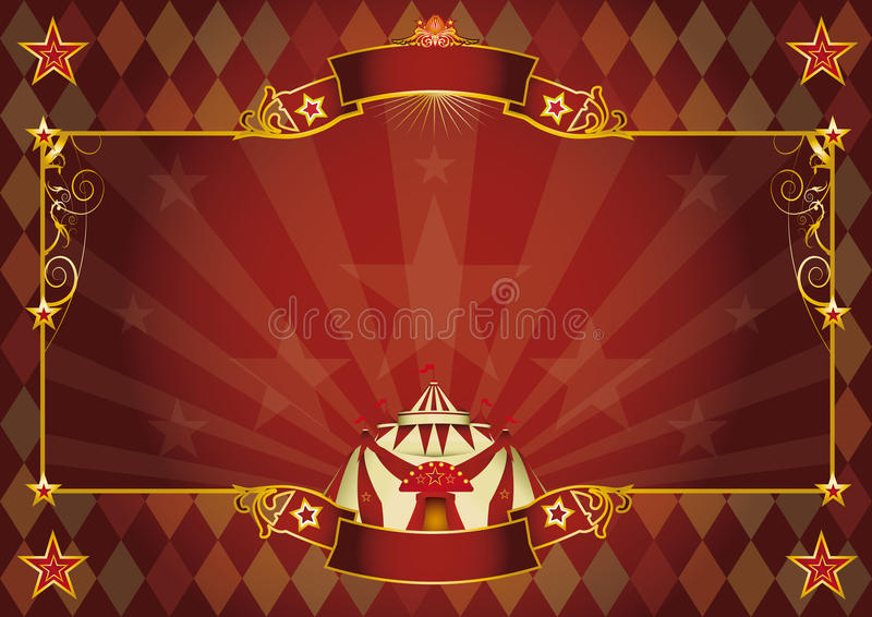 Horizontal rhombus circus background royalty free stock photography