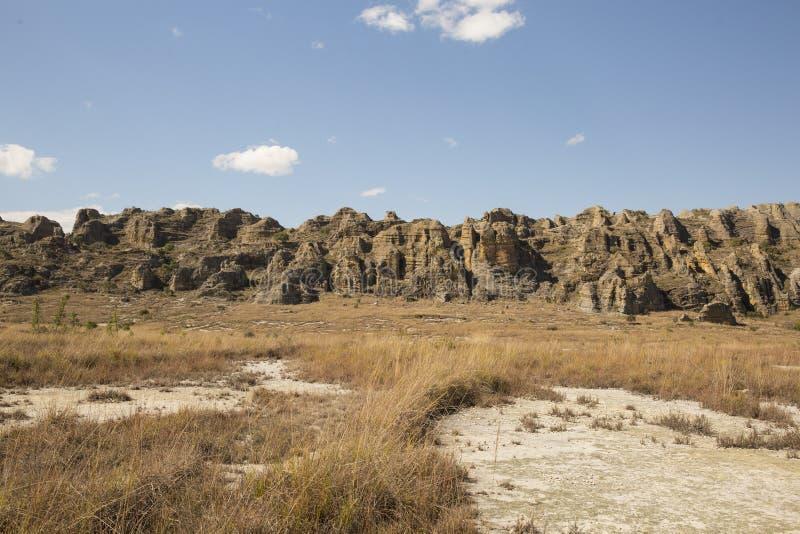 Horizontal rocheux de désert image libre de droits