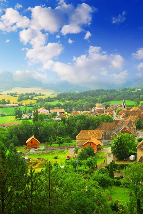 Horizontal rural photo stock