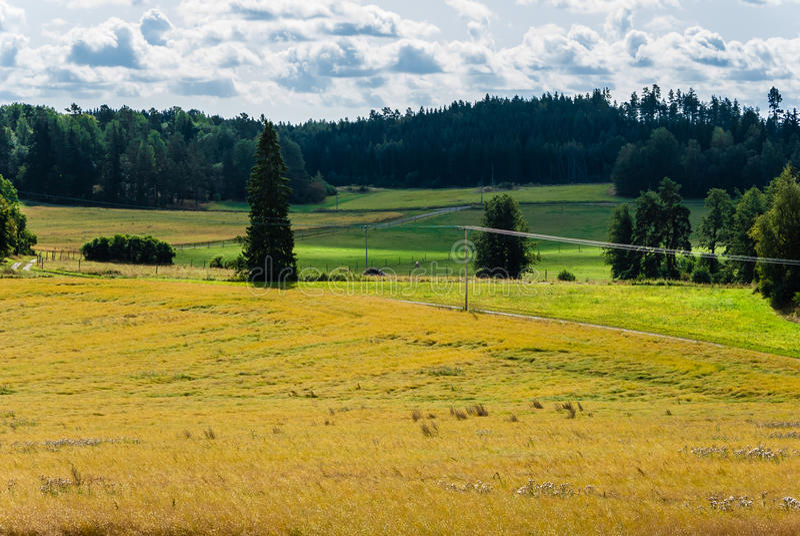 Horizontal rural photos libres de droits