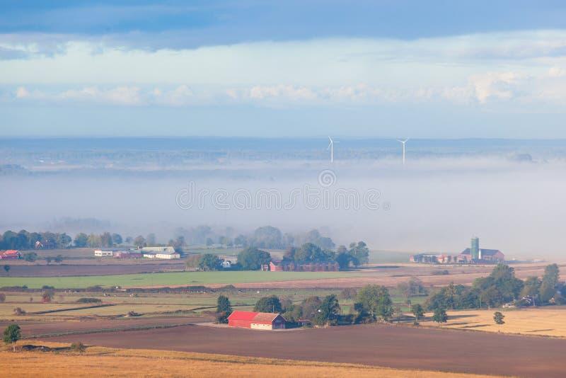 Horizontal rural de campagne photographie stock libre de droits