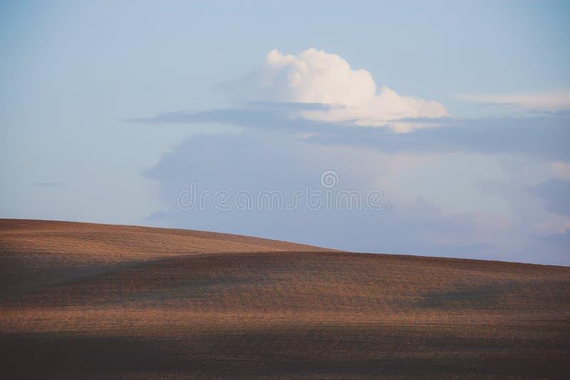 Horizontal rural de campagne photographie stock