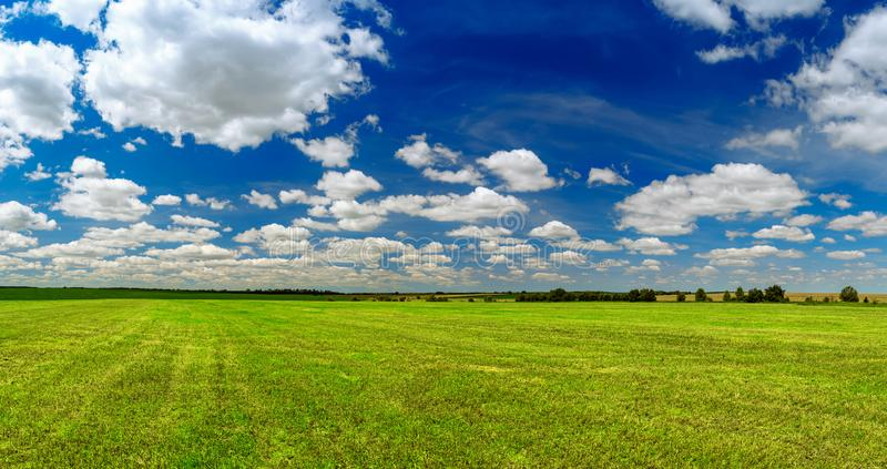 Horizontal rural de source images libres de droits