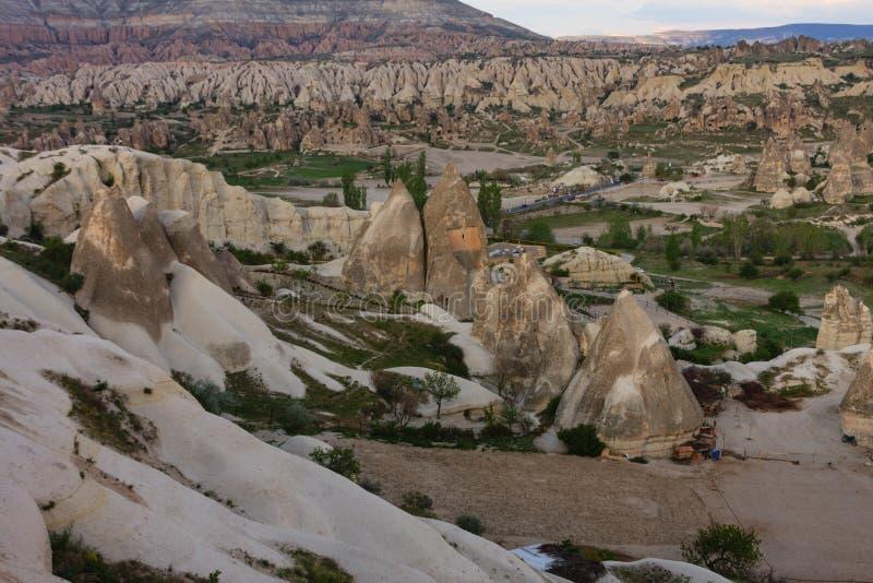 Landscape of Cappadocia royalty free stock photography