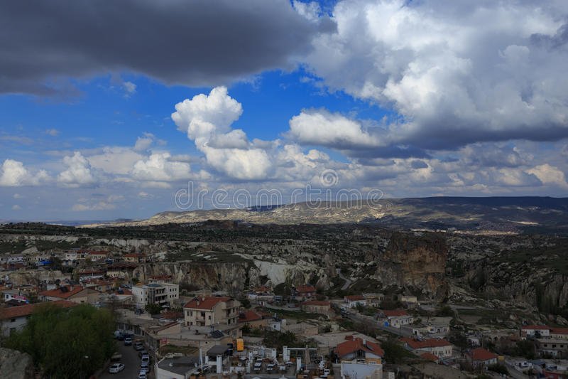 Landscape of Cappadocia royalty free stock photos