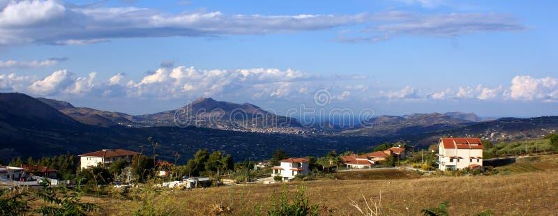 Horizontal Sicile photo libre de droits