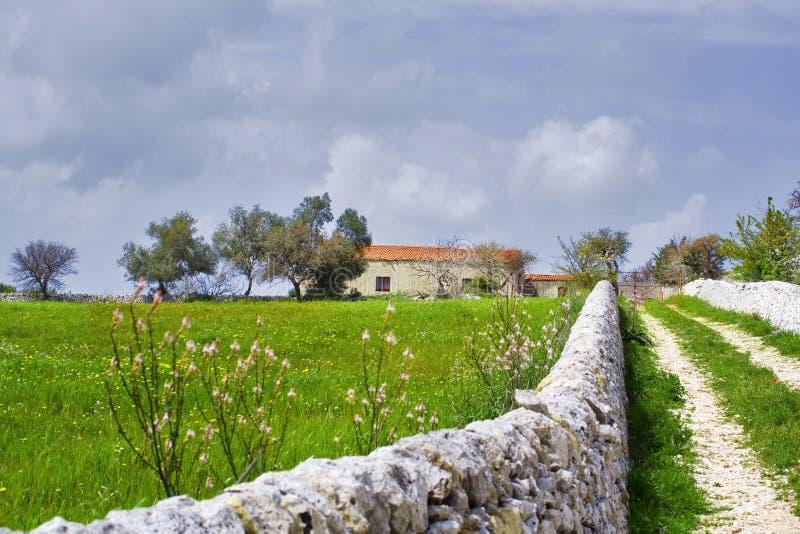 Horizontal sicilien photographie stock libre de droits