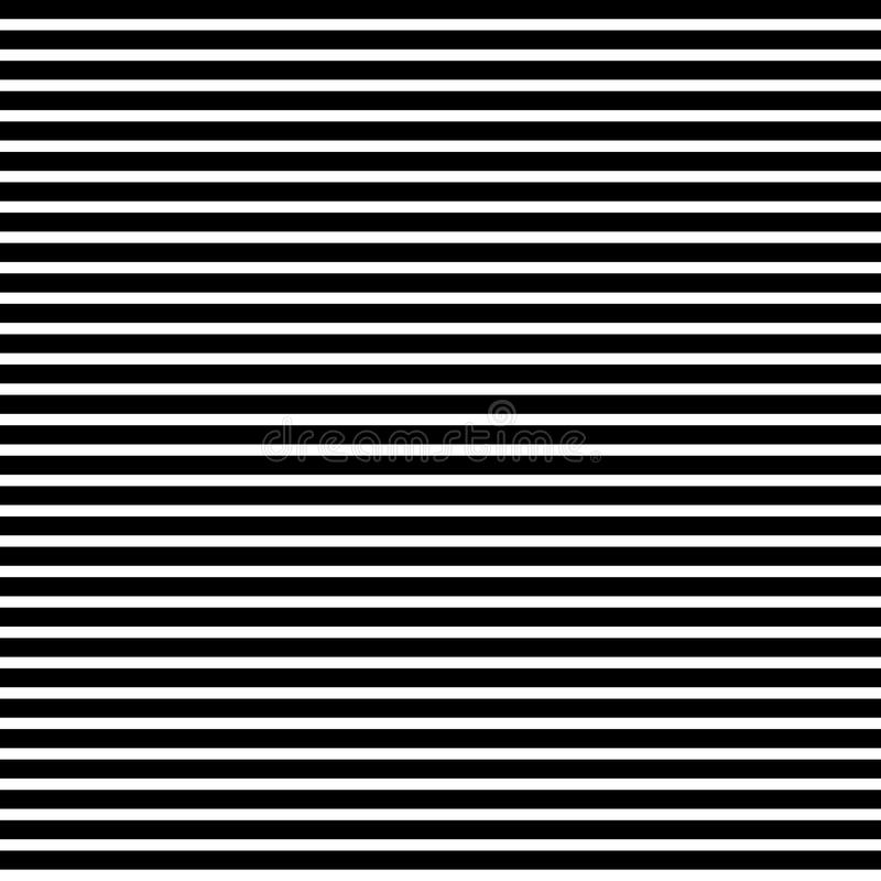 Horizontal straight black lines pattern. Horizontal straight lines with the black:white thickness ratio equal with 13:8 Fibonacci ratio the golden ratio. Modern vector illustration