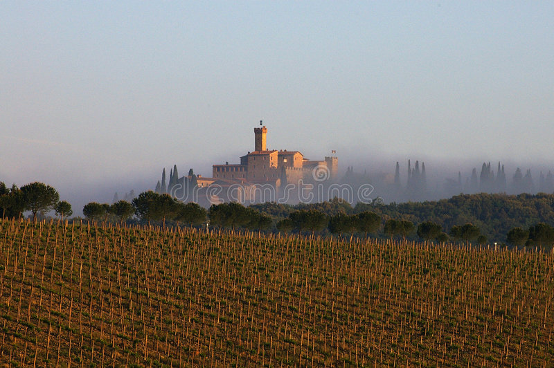 Horizontal, Toscane image libre de droits