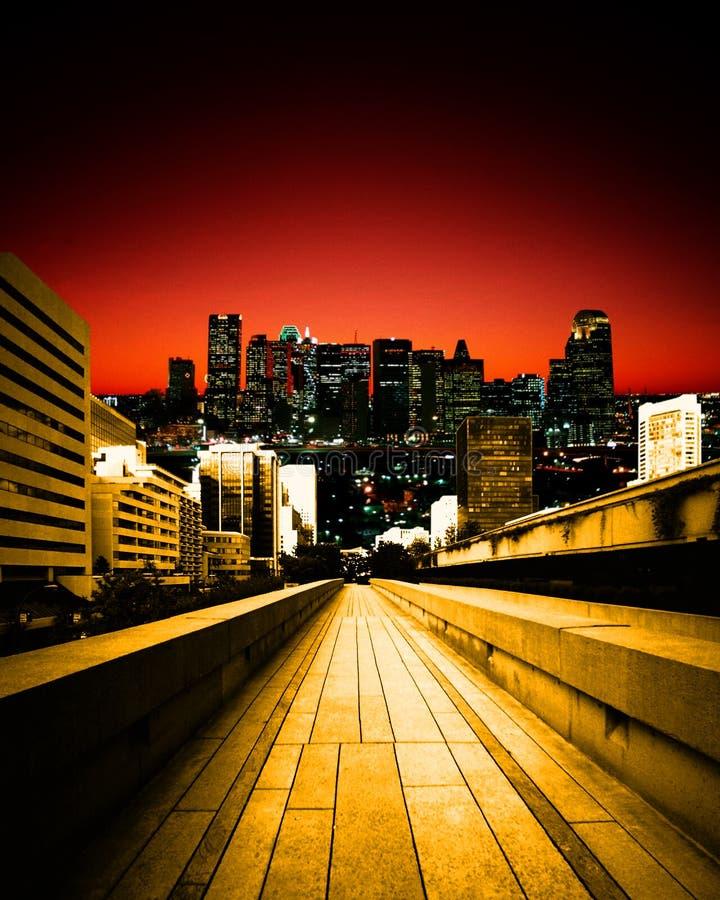 Horizontal urbain photos libres de droits
