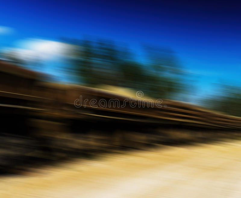 Horizontal vivid railway carriage motion abstraction. Background backdrop royalty free stock photos