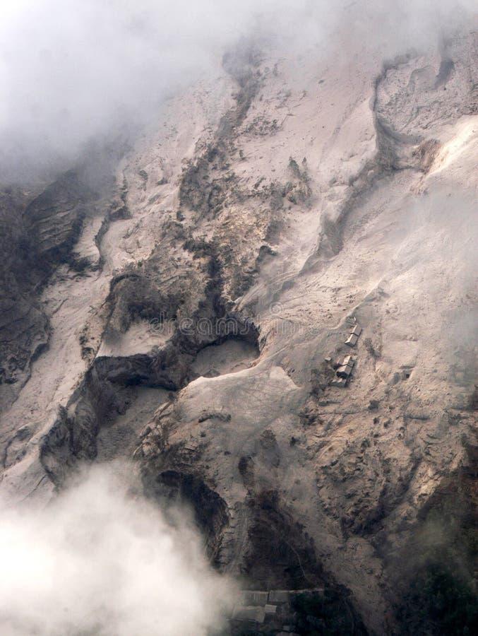 Horizontal volcanique de montagne image libre de droits