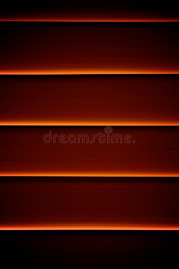 Horizontal Window Lines. Abstract Horizontal Dark Room Window Lines stock images
