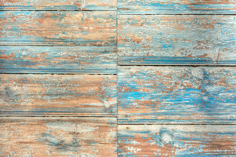 Horizontal wooden background painted. stock photography
