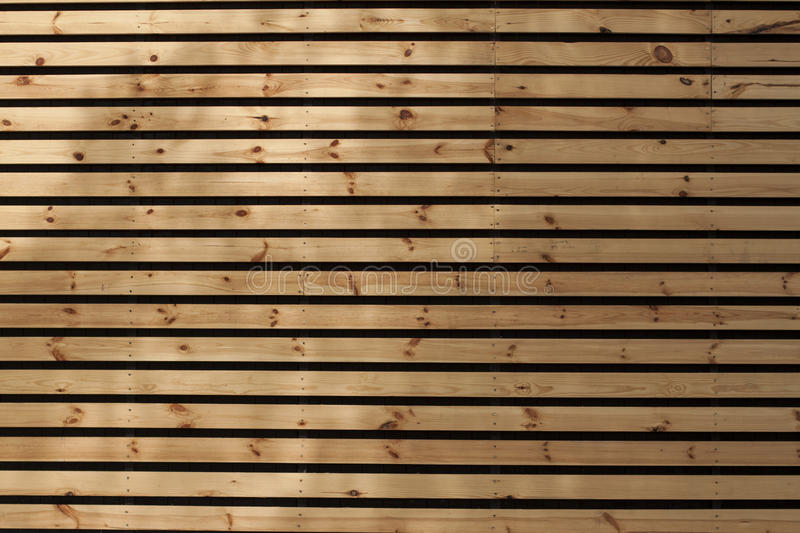Horizontal wooden slats with gaps, background. Texture, surface royalty free stock images