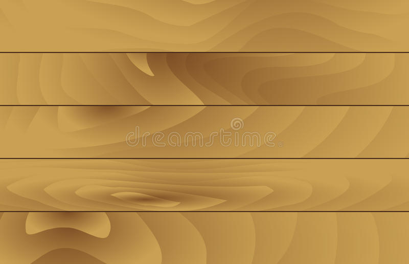 Horizontal Wooden Texture stock image
