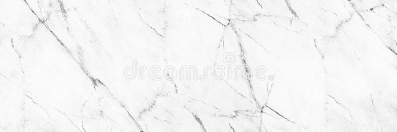 horizontale elegante witte marmeren textuur voor patroon en achtergrond stock fotografie